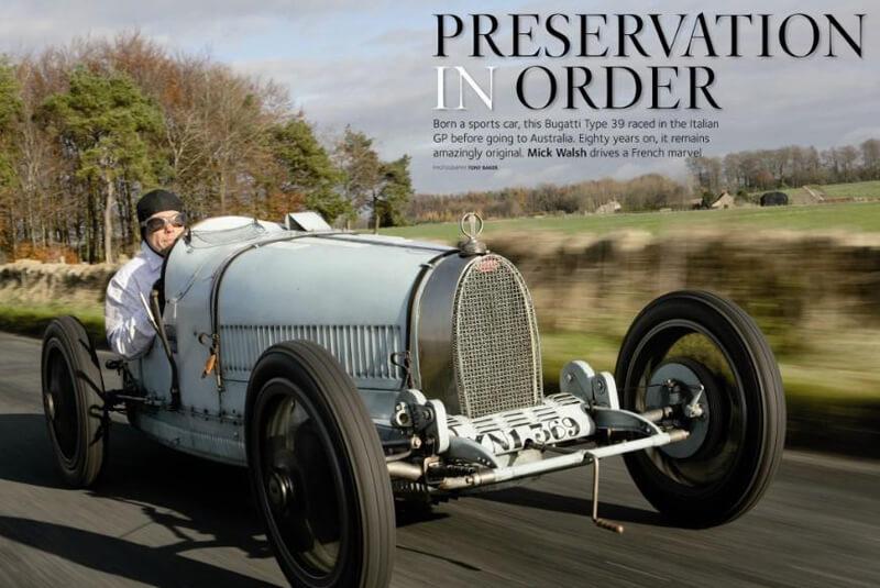 Restoration of Bugatti T39
