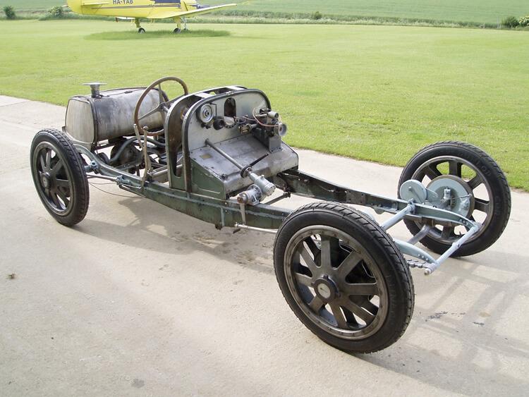 Bugatti T39 Restoration Project