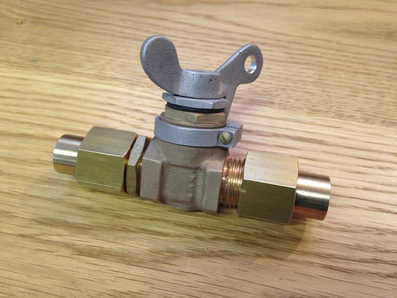 1/4 Turn Aircraft Spec Fuel Taps