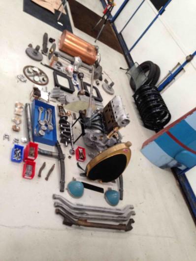 Brescia Kit laid out