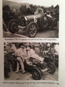 Racing at 1930 Targa Florio and Spa GP